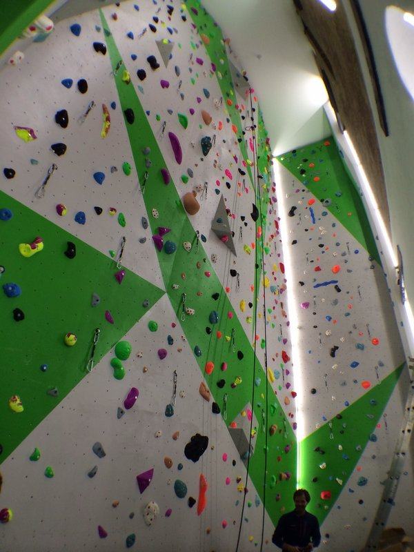 New Wells open at the Castle Climbing Centre, 83 kb