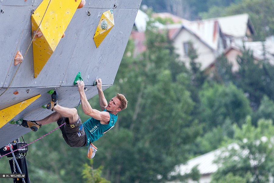 Austria's Jakob Schubert competing in Briancon 2014, 168 kb