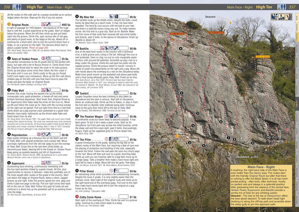 RockFax Guidebook page - High Tor, 231 kb