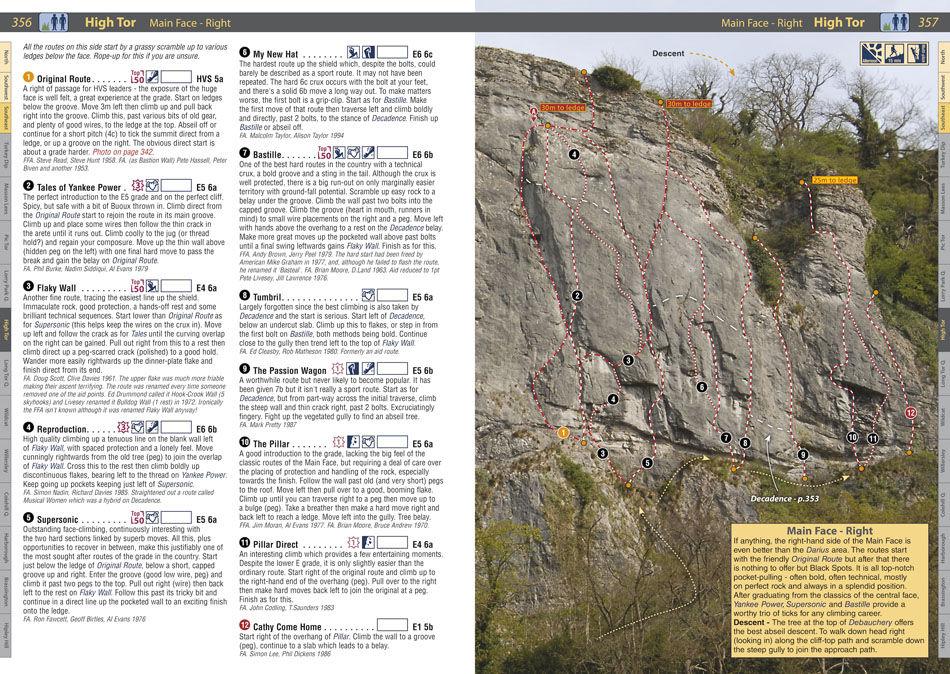 RockFax Guidebook page - High Tor, 231 kb