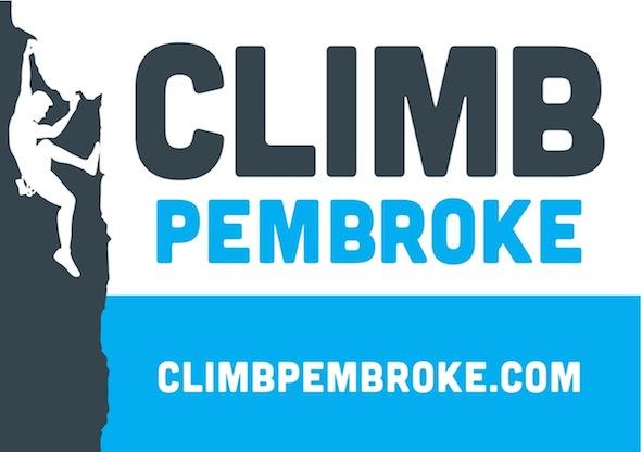 Climb Pembroke Logo, 45 kb