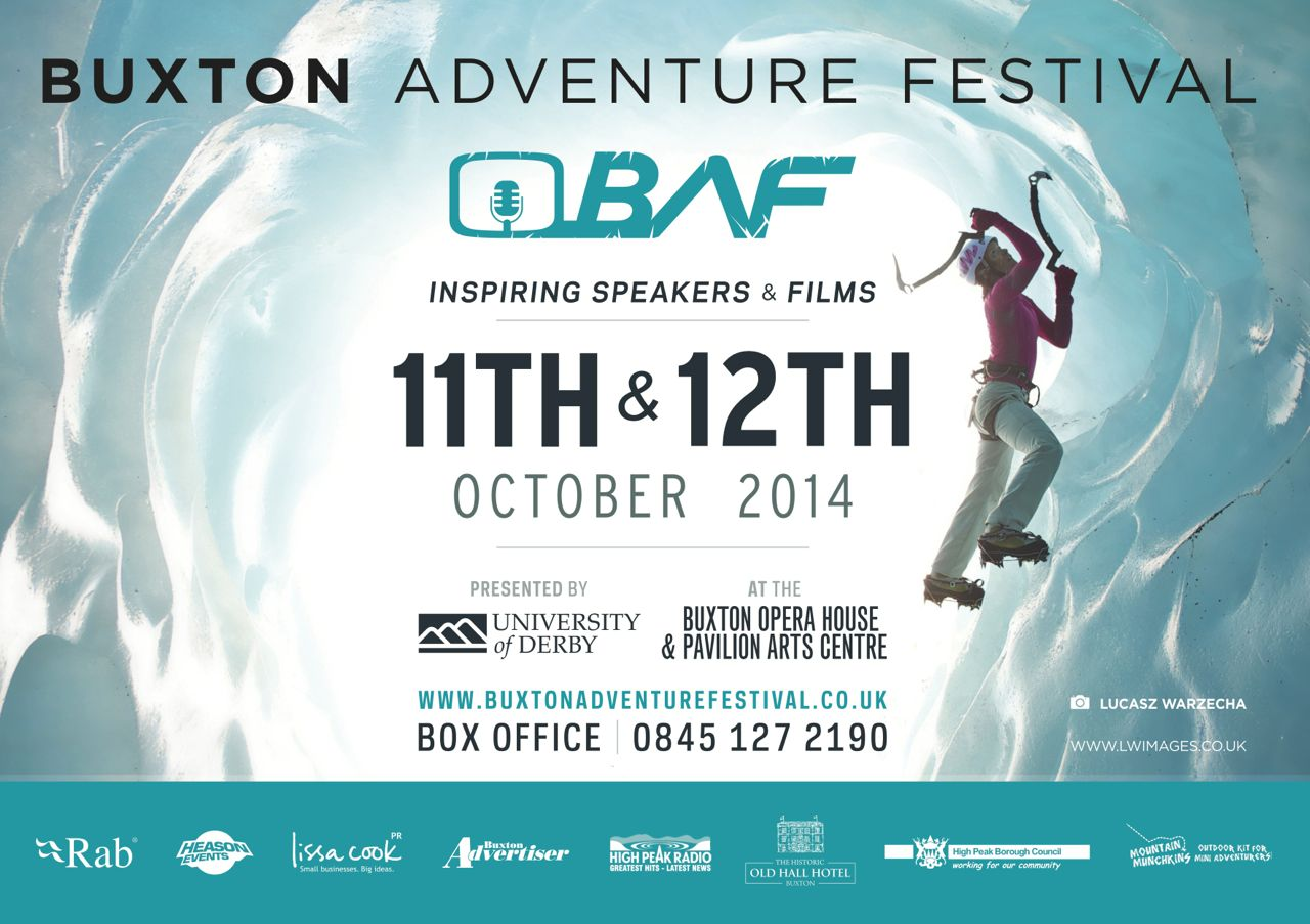 Buxton Adventure Festival poster