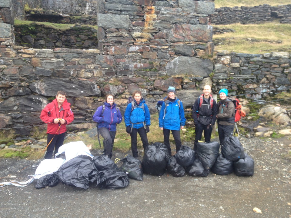 ukh news 39 real 3 peaks 39 to clear britain 39 s highest rubbish mountains