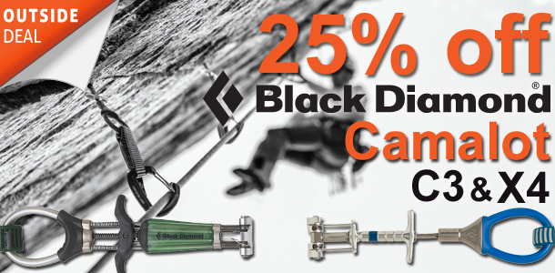 25% off Black Diamond C3 and X4 Cams at outside.co.uk