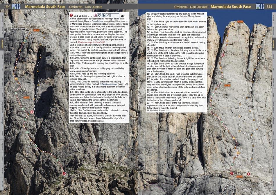 Dolomites Rockfax - Marmolada page , 204 kb