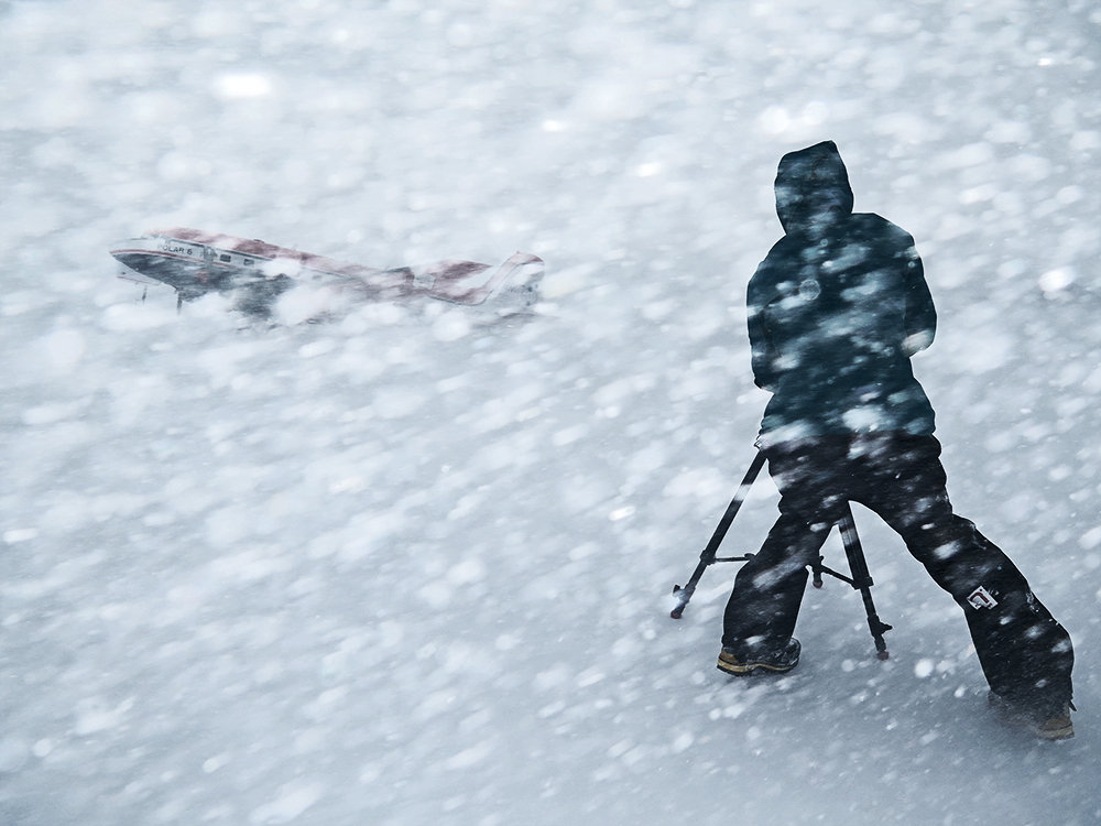 If you aren't worried about getting your camera wet or covered in snow, then you often get shots other don't., 109 kb