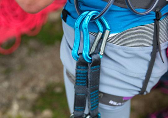 Cinque rinvii ideali per iniziare ad arrampicare