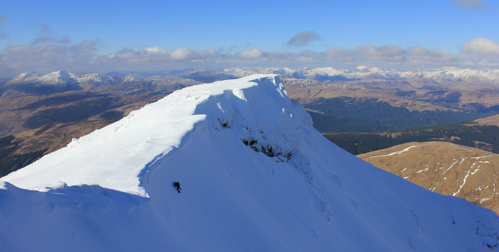 Topping out on Ben Lui, 80 kb
