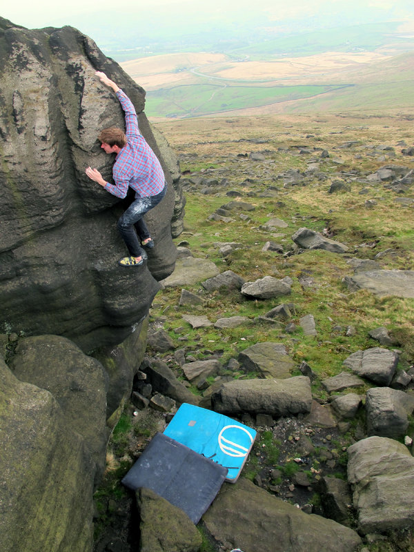 Cleft of the Brave, Blackstone Edge, 5+, 168 kb