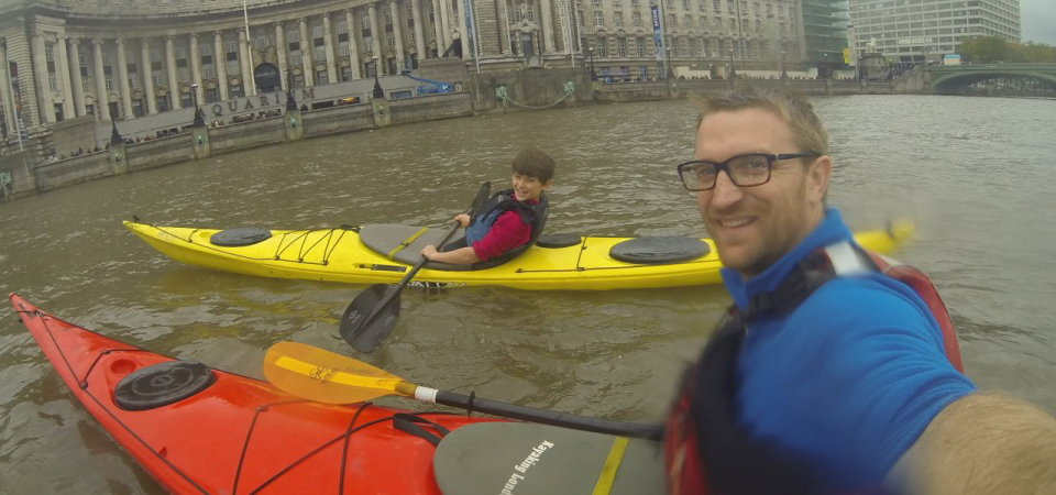 Kayaking the Thames, 95 kb