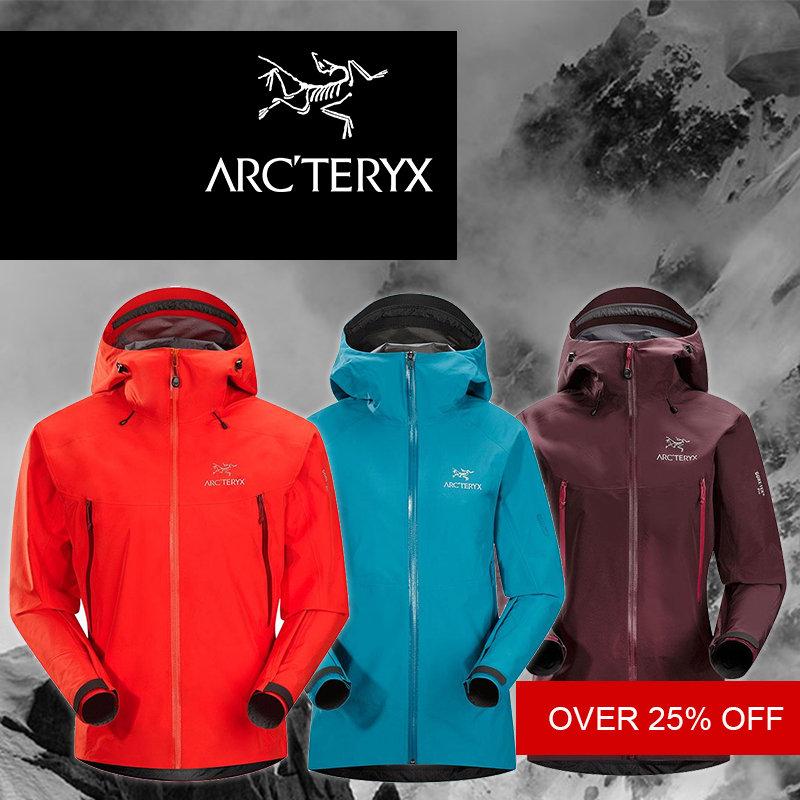 Arcteryx pre-Xmas deals at outside.co.uk