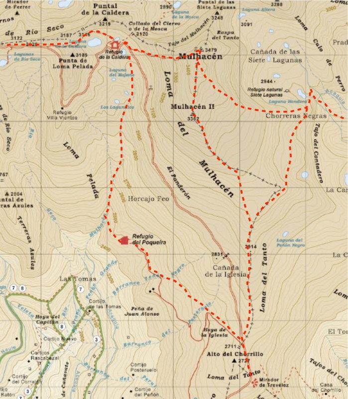 Mulhacen paths, 136 kb