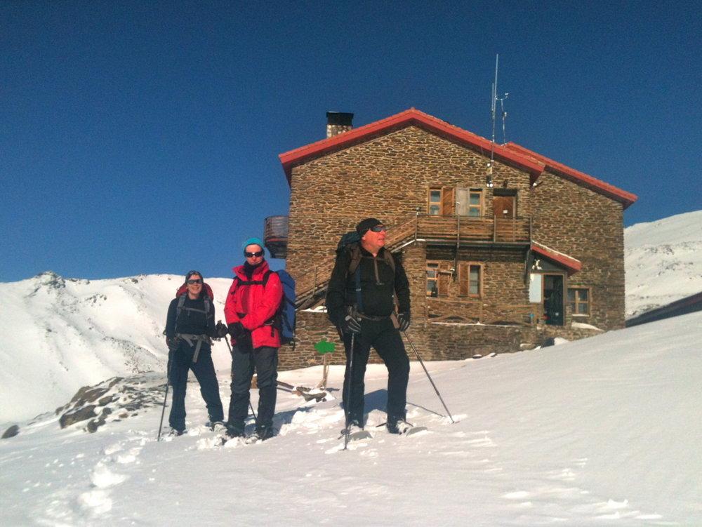 Outside the Refugio Poqueira, 126 kb