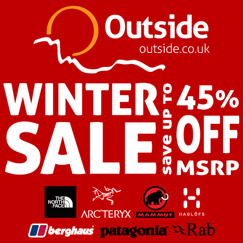 Outside.co.uk winter sale