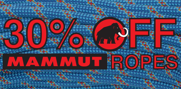 30% OFF Mammut Ropes at Outside.co.uk