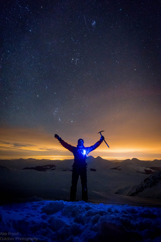 Night Ascent of Ben Challum, 104 kb