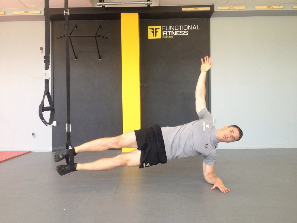 Side Plank bent arm legs in straps, 87 kb