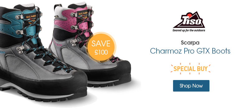 SAVE ??????????�£100 on Scarpa Charmoz Pro GTX Boots. Shop Now.