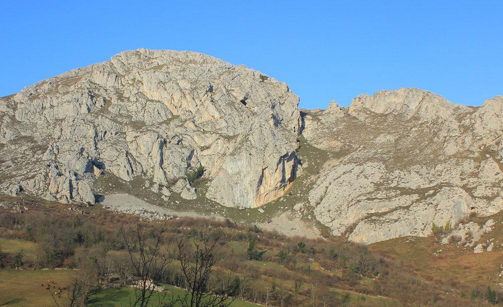 The beautiful crag of Marabio…, 199 kb