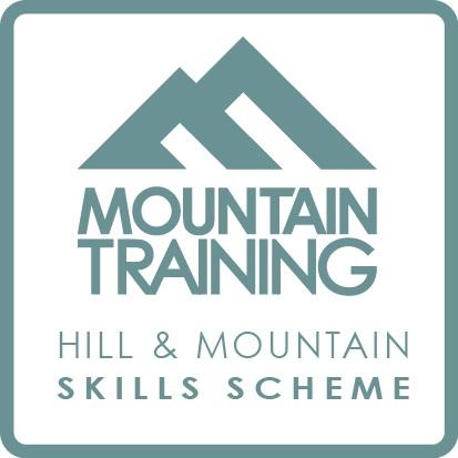 Mountain Training hill skills scheme logo , 30 kb