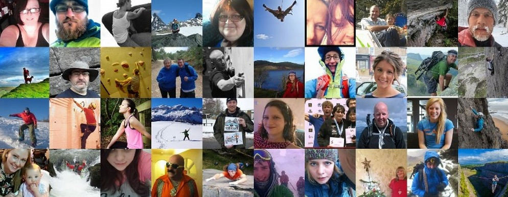 Climb Out supporters: A climbing community, 168 kb