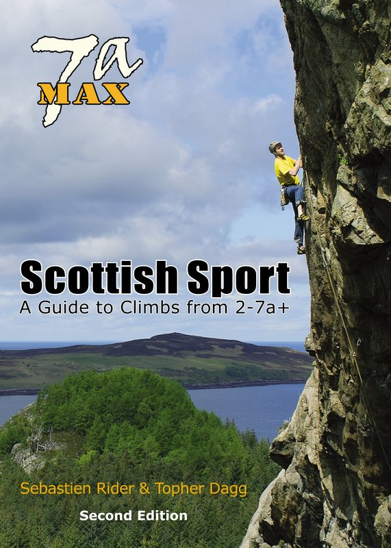Cover: 7aMax Scottish Sport - A Guide to Climbs from 2-7a+, 174 kb