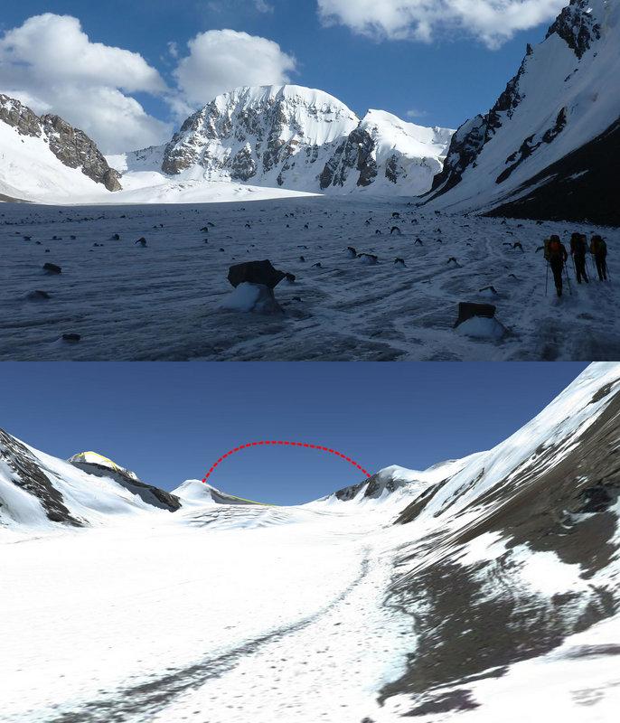Pik Currahee in Djangart, Kyrgyzstan - the missing peak, 120 kb