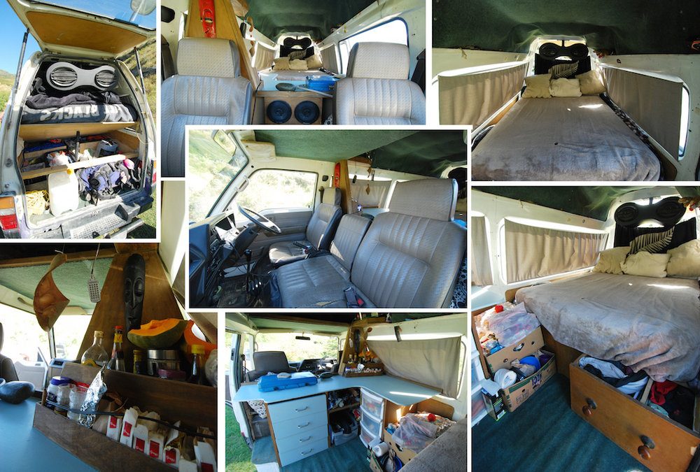 Full size bed with storage - Ukc Articles Van Life On The Road 4