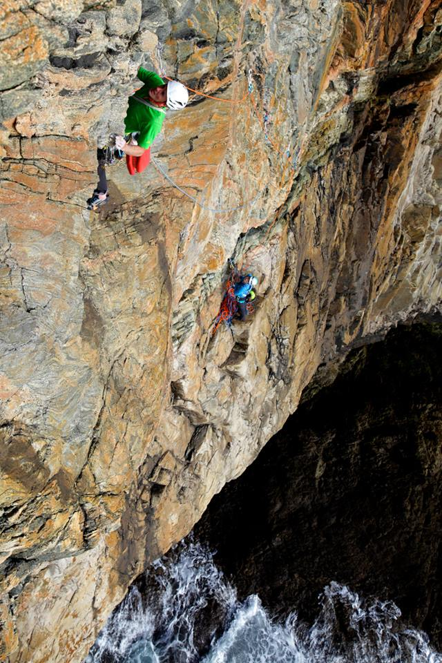 No chance of a dynamic belay here..., 145 kb