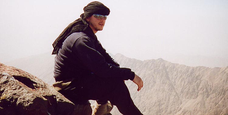 Rob on Jebel Toubkal, 42 kb