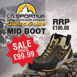 Premier Post: La Sportiva Ganda Guide from Mad About Mountains, 36 kb