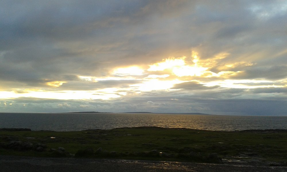View from Burren to Arran Isles, 71 kb