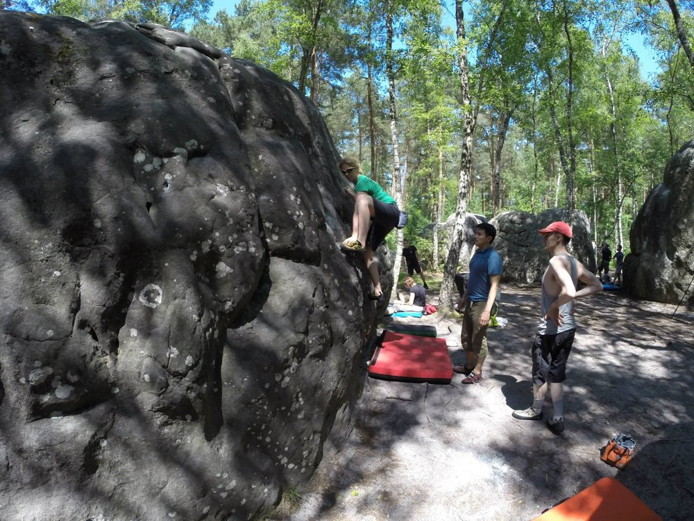 Not So Trad in Fontainebleau, 210 kb