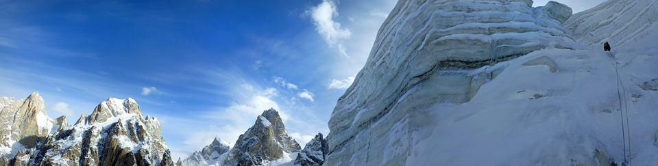 Serac climbing on twin peak 2, 36 kb