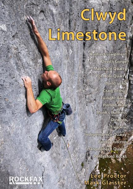 Clwyd Limestone Rockfax Cover, 150 kb