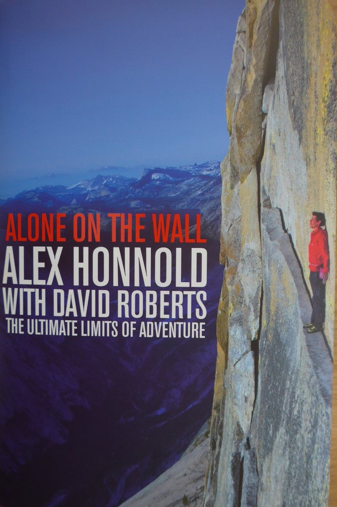 Alone on the Wall Front Cover, 128 kb