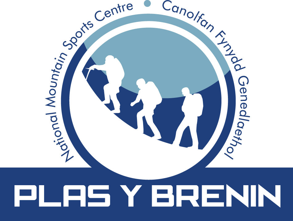 Plas-Y-Brenin Logo Blue Text, 112 kb