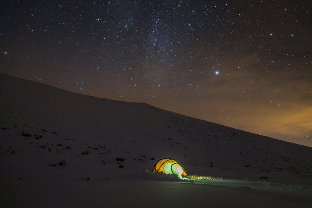 Perfectly still night in Coire an Lochain, Cairngorms., 96 kb