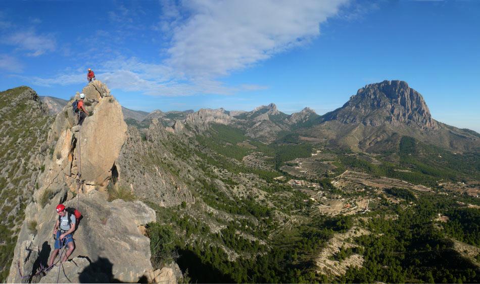 Castlettes Ridge on the Costa Blanca, 130 kb