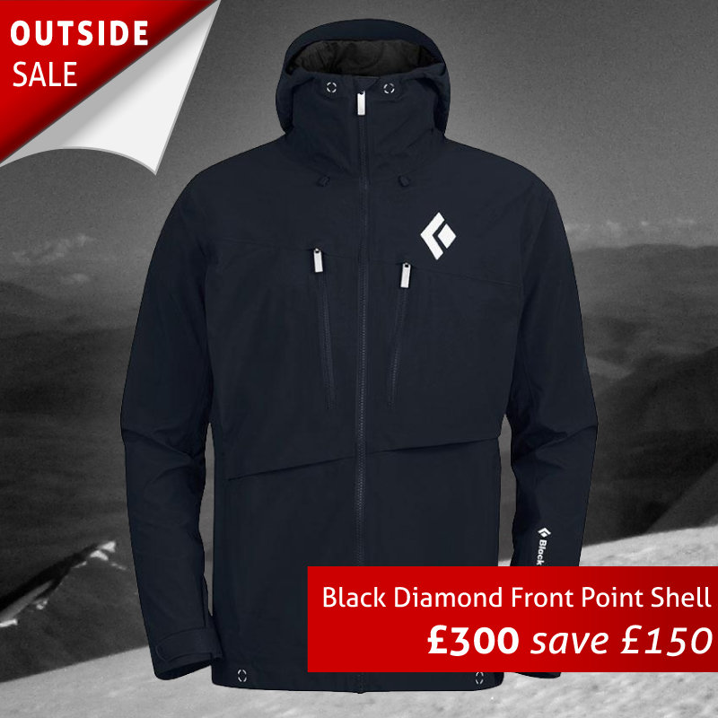 Black Diamond Front Point Shell