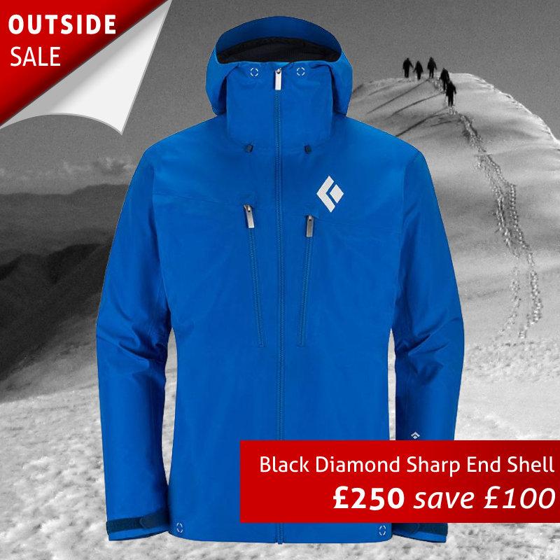Black Diamond Sharp End Shell