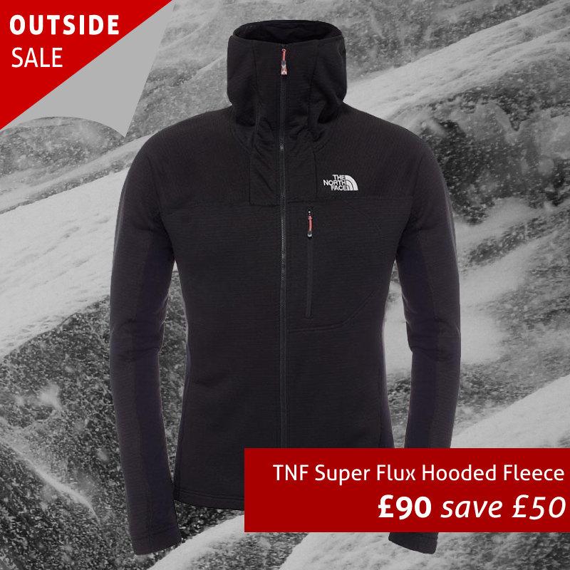 The North Face Super Flux Hooded Fleece Jacket