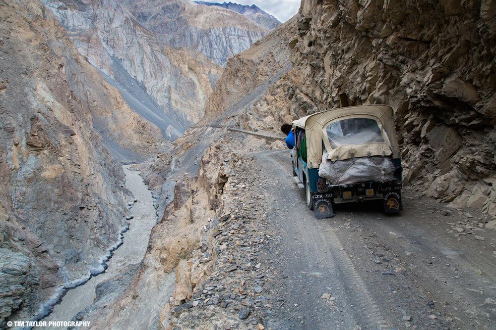 The road to Shimshal, 234 kb