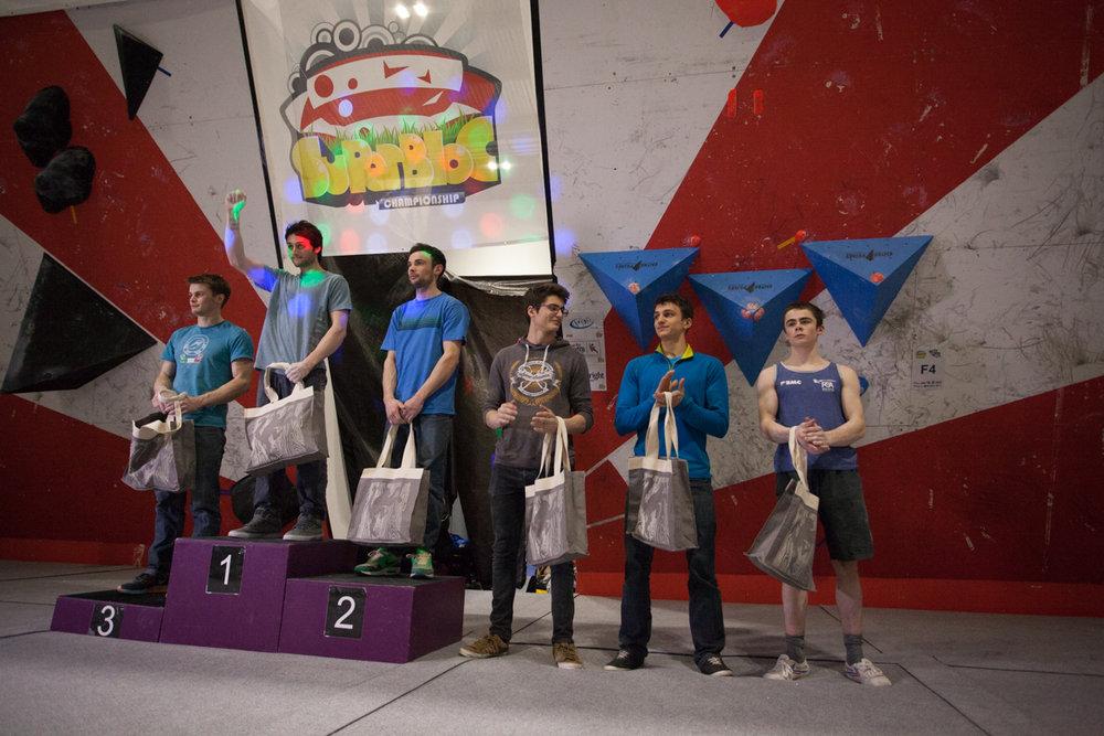 The men's 2016 SuperBloc Open winners, 152 kb