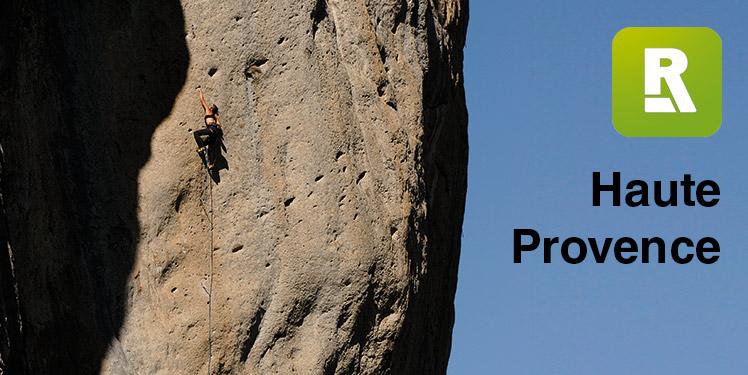 Haute Provence on the Rockfax App, 90 kb