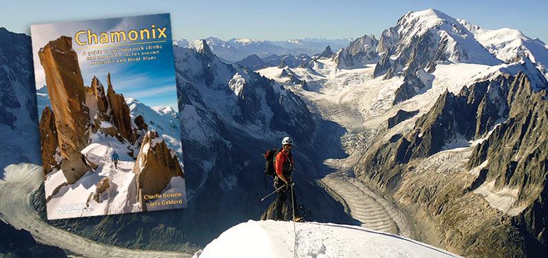 Rockfax Chamonix guidebook montage, 98 kb