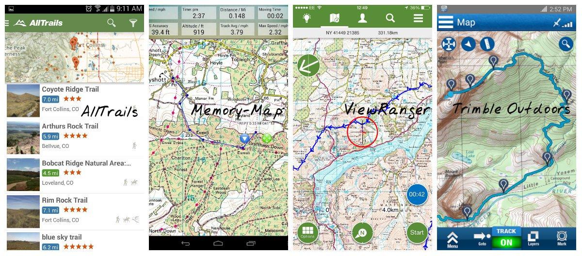 A host of navigation apps , 227 kb
