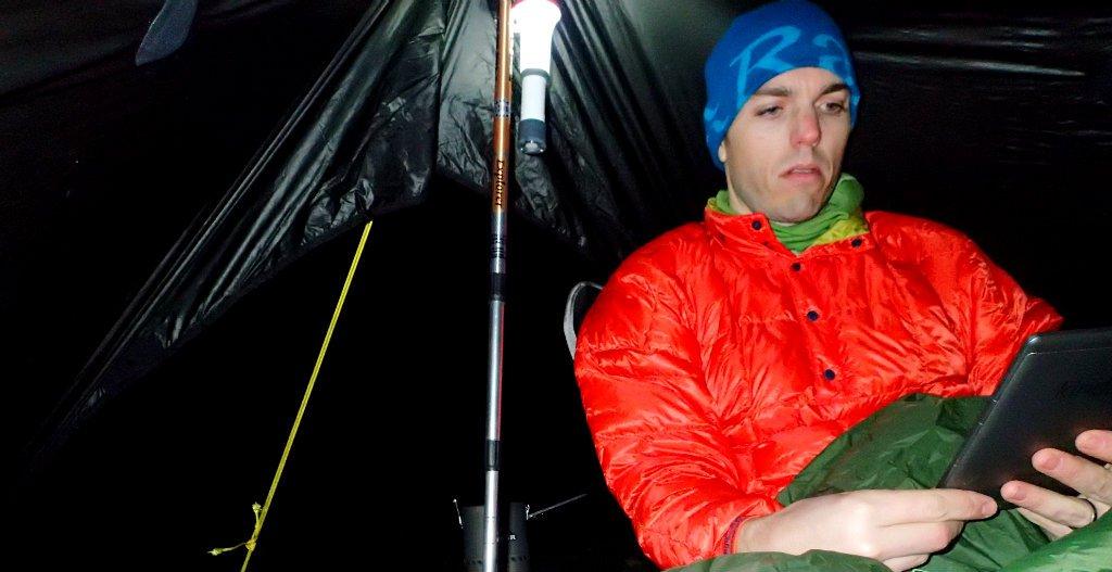 For long nights in the tent I still prefer an eReader , 78 kb