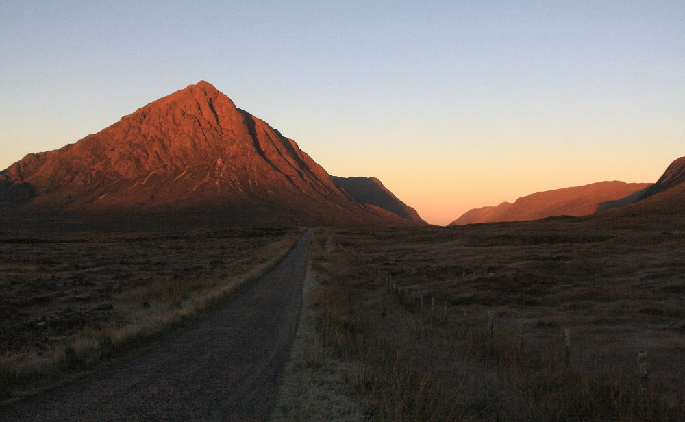 Dawn on the West Highland Way, 92 kb
