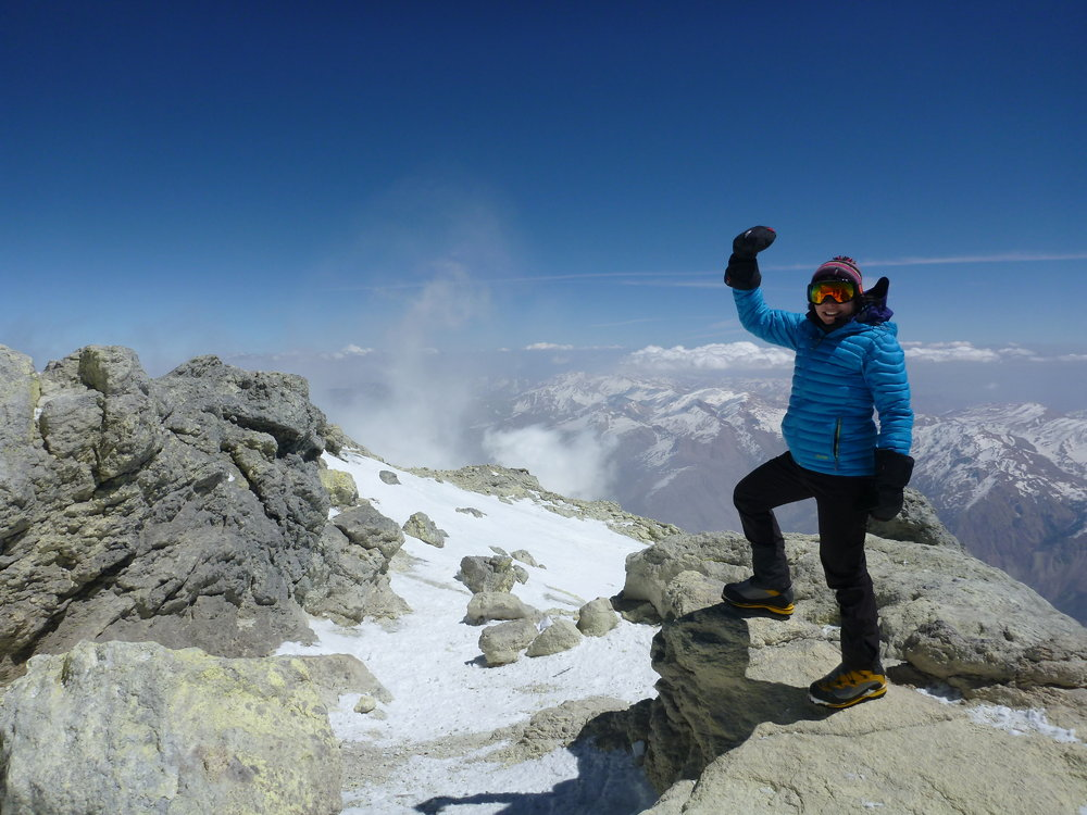 Leading the way for women and mountaineering in Iran, 151 kb
